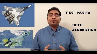 T-50 / PAK-FA and few things about F-22, F-35