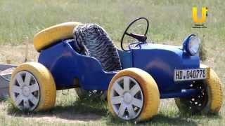 Детские машинки своими руками из шин
