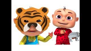 Five Little Babies Building Blocks (Animals)   Learn Animals For Kids   Nursery Rhymes & Kids Songs