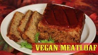 Vegan Meatloaf Recipe (GLUTEN-FREE) The Vegan Zombie