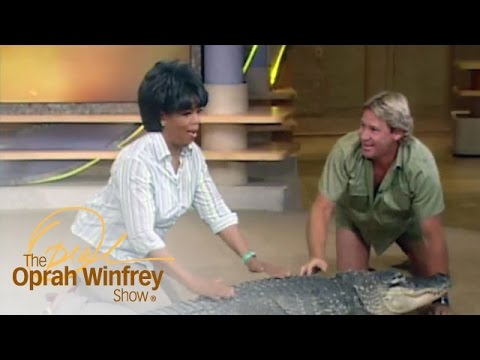 Oprah s Very Close Encounter with Bubba the Alligator The Oprah Winfrey Show OWN