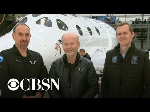 Xxx Mp4 Virgin Galactic Takes First Test Passenger Into Space 3gp Sex