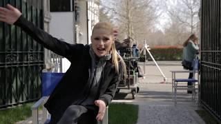 Michelle Hunziker beim TV-Spot-Dreh für UPC