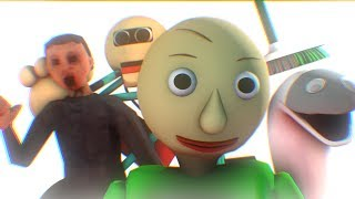 [SFM BALDI] TOP 3 Baldi's Basics In Education And Learning Animation Compilation
