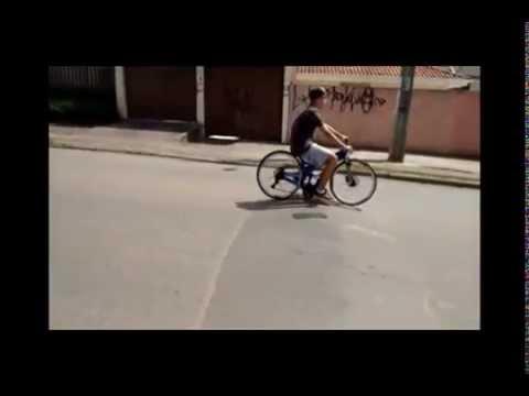 Bike Rebaixada CWB Coroa Pegando Na Lombada