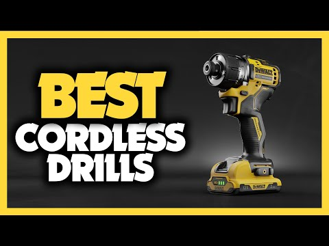 Best Cordless Drills in 2021 5 Picks For Home Use Concrete & Metal