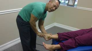 Feet Adjustment for Plantar Faciitis | Extreme Foot Pain