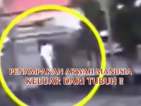 VIDEO PENAMPAKAN ARWAH MANUSIA KELUAR DARI TUBUH DAN GENTAYANGAN SAAT TERBAWA BANJIR BANDANG
