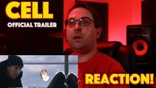 REACTION! CELL Official Trailer - Stephen King Horror Film