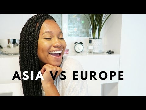 Asia VS. Europe Cost Being Black First Impressions
