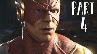 INJUSTICE 2 Walkthrough Gameplay Part 4 - Flash (Story Mode)
