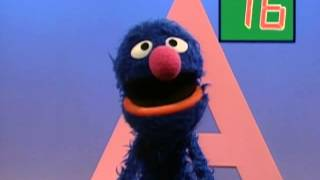 Sesame Street: Grover Finds the Letter A
