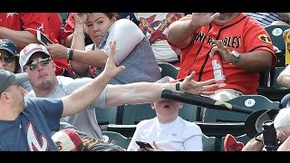 Hero Dad Saves Son's Head From Flying Baseball Bat