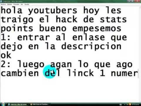 hack wild ones 2011 agosto stats points comprovado que sirve el 06 de agosto