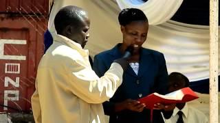 Sabaot Bible reception Phanice reading the bible .MOV