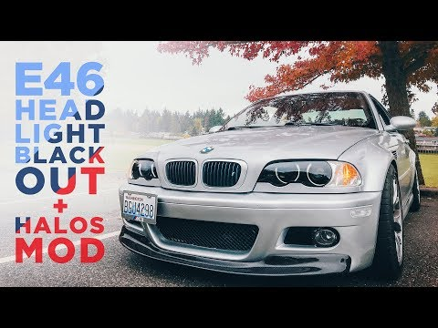 Xxx Mp4 20 E46 Mod Blacked Out Headlights Halo Install 3gp Sex