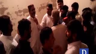 Pannu Aqil main Khursheed shah ko voters kay ghussay ka saamna