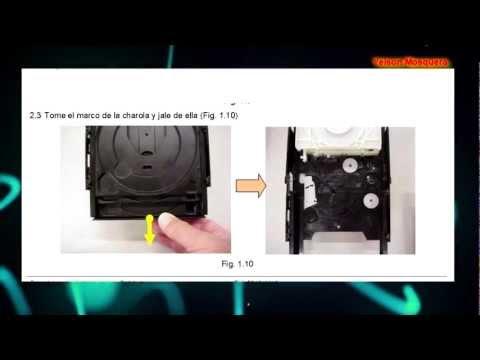 HCD GT como reparar mecanismo Repair Assembly & Dissasembly mechanism GT