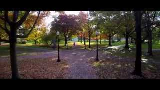 Aerial Video of Oberlin College Campus