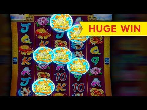 Dragon Emblem Jackpots Slot - BIG WIN RETRIGGER BONUS!