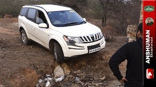 XUV-500 AWD. Fortuner, Thar CRDe: Taking a closed exit. 29Jan2017