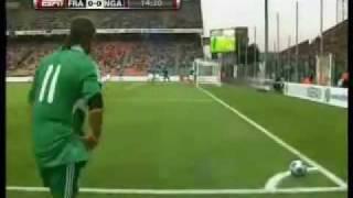 Nigeria Vs France International Friendly June 02, 2009