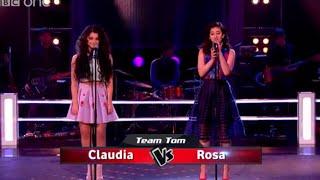 Claudia Rose Vs Rosa Lamele  Battle Performance   The Voice UK 2015   BBC One