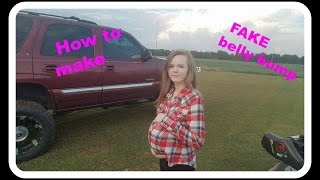 How to make a FAKE  belly bump