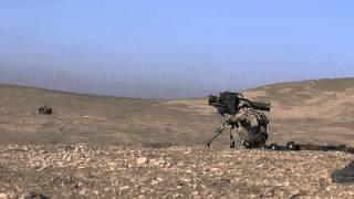 ISAF German Afghanistan MILAN Anti-Tank Missile System