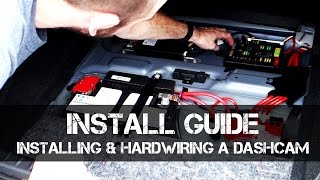 Installing & Hardwiring a Dashcam with NO FAULT CODES or Forced Battery Cut-off
