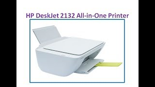 HP DeskJet 2132 All-in-One Printer UNBOXING AND REVIEW