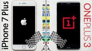 iPhone 7 Plus vs. OnePlus 3 Speed Test