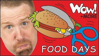 Magic Food Days of the Week with Steve and Maggie + MORE Stories for Children | Wow English TV