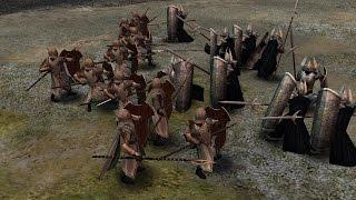 Mirkwood Palace Guards vs Gondor Tower Guards (SPECIAL)
