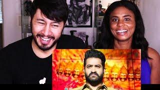JAI LAVA KUSA   Junior M.T.R   Telugu   Trailer Reaction w/ Cortney!