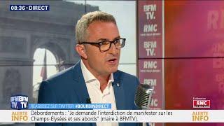 Stéphane Ravier Réagit Aux Manifestations Après La Victoire De L'Algérie