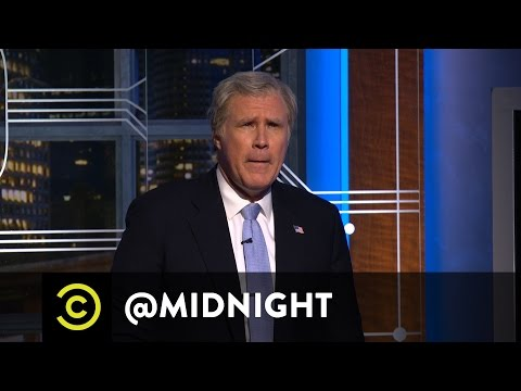 watch A Word from President George W. Bush (Will Ferrell) - @midnight with Chris Hardwick