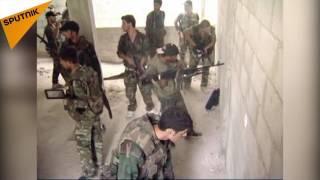چگونگى جنگيدن نظاميان سوريه با جنگجويان تروريست در شهرها