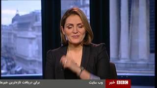 سوتی فرناز قاضی زاده مجری زن بی بی سی