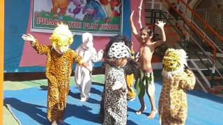 Jungle jungle baat chali hai pata chala hai kids performance
