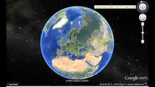 United Kingdom Google Earth View
