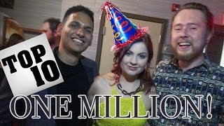 """The Most Amazing Top Ten """"Million Subscriber Party!"""" : INSIDE the party AND after party!"""