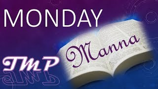 Monday Manna (Duplicate to Replicate) - June 12, 2017