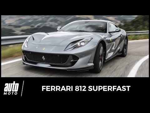 2017 Ferrari 812 Superfast ESSAI la meilleure GT du monde acceleration sound