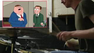 Family Guy w/drums (part 2)