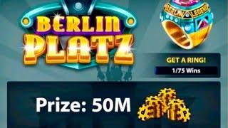 8 Ball Pool - EPIC MATCH!! Berlin Platz, Winning 50 Million Coins!!
