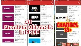 Kumpulan Channel Premium hingga Channel Dewasa