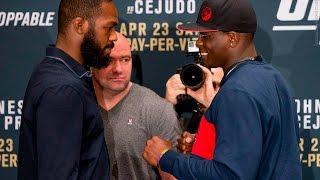 UFC 197: Jon Jones vs.Ovince Saint Preux Staredown