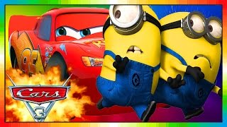 Cars 3 ★★ 2017 ★★ Mini Movie Animation 03 ★★ CARS meets MINIONS ★★ ( funny ) ★★