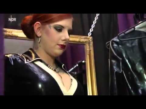 Inner Sanctum Latex designer in German TV
